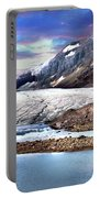 Columbia Ice Field And Athabaska Glacier Portable Battery Charger