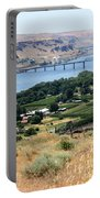 Columbia River And Biggs Bridge Portable Battery Charger