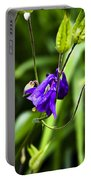 Columbine Flower 2 Portable Battery Charger