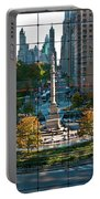 Columbus Circle Portable Battery Charger by S Paul Sahm