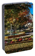 Columbus Day In The Park Portable Battery Charger