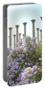 Column Flowers To The Sky Portable Battery Charger