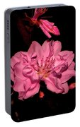 Columnar Ornamental Peach 001 Portable Battery Charger