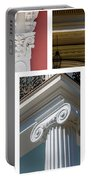 Columns Of New Orleans Collage Portable Battery Charger