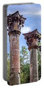 Columns Of Windsor Ruins Portable Battery Charger