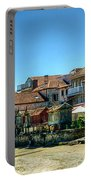 Combarro Village Waterfront Panorama Portable Battery Charger