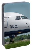 Come Fly With Blue Portable Battery Charger