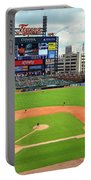 Comerica Park, Home Of The Detroit Tigers Portable Battery Charger