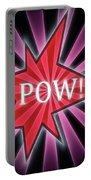 Comic Book Pow Portable Battery Charger