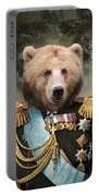 Commander Bear Portable Battery Charger