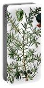 common juniper, Juniperus communis Portable Battery Charger