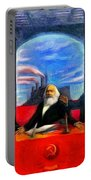 Communist Last Supper Portable Battery Charger