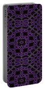 Community Garden Two Abstract Portable Battery Charger