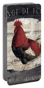 Compagne IIi Rooster Farm Portable Battery Charger