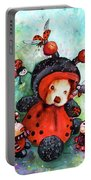 Comtessine Coccinella De Lafontaine Portable Battery Charger