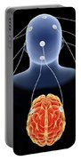 Conceptual Image Of Multi-brain Portable Battery Charger