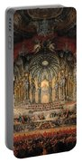 Concert Given By Cardinal De La Rochefoucauld At The Argentina Theatre In Rome Portable Battery Charger