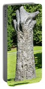 Concrete Tree On Campus Portable Battery Charger