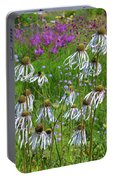 Cone Flower Fairy Dance Portable Battery Charger