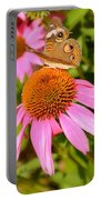 Cone Flower Visitor Portable Battery Charger