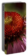 Coneflower Bee Portable Battery Charger