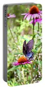 Coneflower Companion Portable Battery Charger