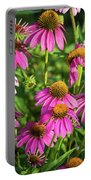 Coneflower Garden Portable Battery Charger