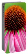 Coneflower Macro Portable Battery Charger