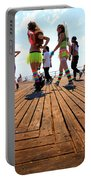 Coney Island Encounters Portable Battery Charger