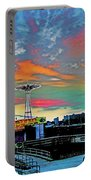 Coney Island In Living Color Portable Battery Charger