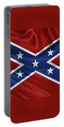 Confederate Flag - Second Confederate Navy Jack And The Battle Flag Of Northern Virginia Portable Battery Charger