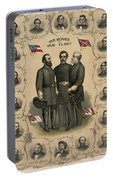 Confederate Generals Of The Civil War Portable Battery Charger