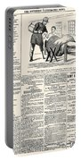 Confederate Newspaper Portable Battery Charger