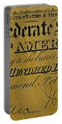 Confederate States Portable Battery Charger