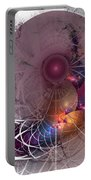 Confetti - Fractal Art Portable Battery Charger