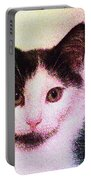 Confetti Kitty Portable Battery Charger