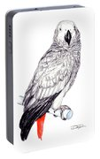 Congo African Grey Parrot Portable Battery Charger