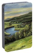 Connecticut River Valley View Two Portable Battery Charger