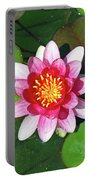Conqueror Waterlily  Portable Battery Charger