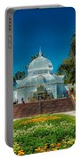Conservatory Of Flowers - San Francisco Portable Battery Charger