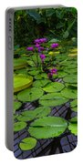 Conservatory Waterlilies Portable Battery Charger