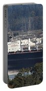 Container Ship Ready To Load More Lumber Portable Battery Charger