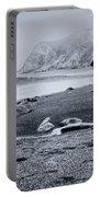 Contemplation - Beach - California Portable Battery Charger