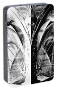 Contemporary Art - Black And White Embers 1 - Sharon Cummings Portable Battery Charger