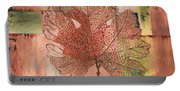 Contemporary Grape Leaf Portable Battery Charger