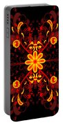 Continental Abstract Portable Battery Charger