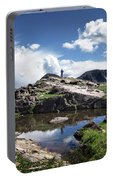 Continental Divide Above Twin Lakes 2 - Weminuche Wilderness Portable Battery Charger