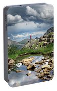 Continental Divide Above Twin Lakes 4 - Weminuche Wilderness Portable Battery Charger