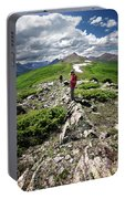 Continental Divide Above Twin Lakes 7 - Weminuche Wilderness Portable Battery Charger