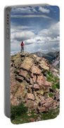 Continental Divide Above Twin Lakes - Weminuche Wilderness Portable Battery Charger